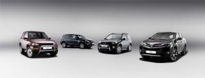 Cztery generacje Toyoty RAV4