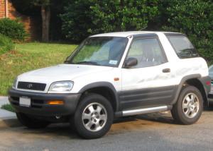 Toyota RAV4 pierwszej generacji - autor IFCAR