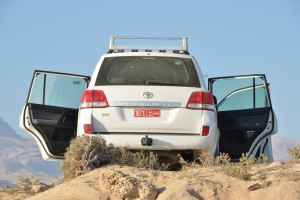 Toyota open door
