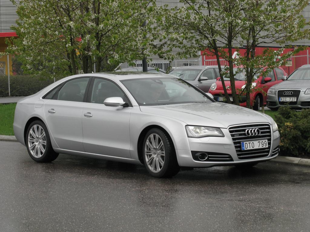 Audi z silnikiem 4,2l TDI