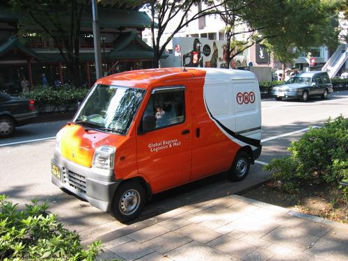 Kei car w roli furgonetki