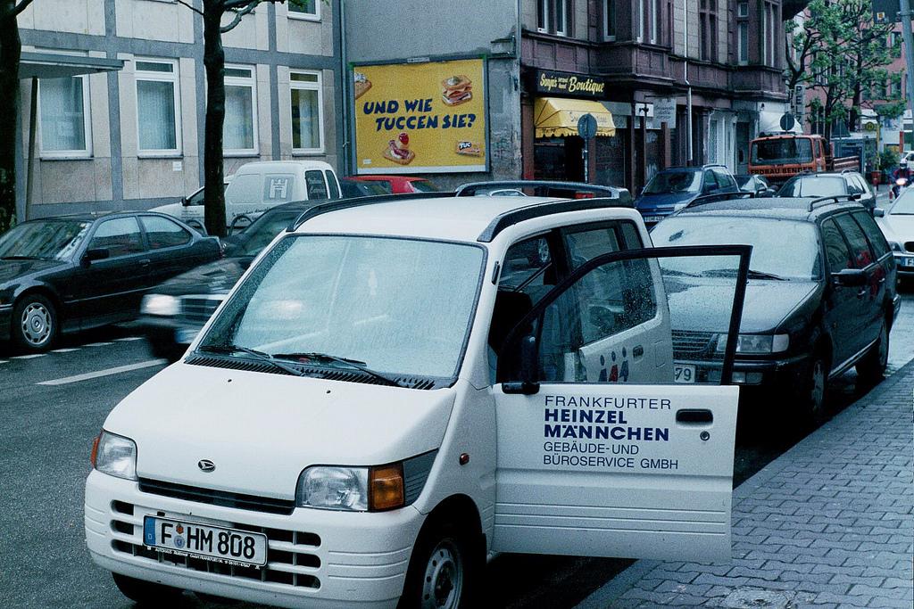 Daihatsu Move pierwszej generacji w Niemczech