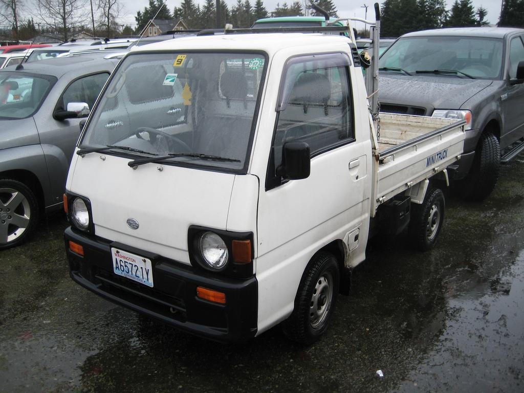Subaru Pickup