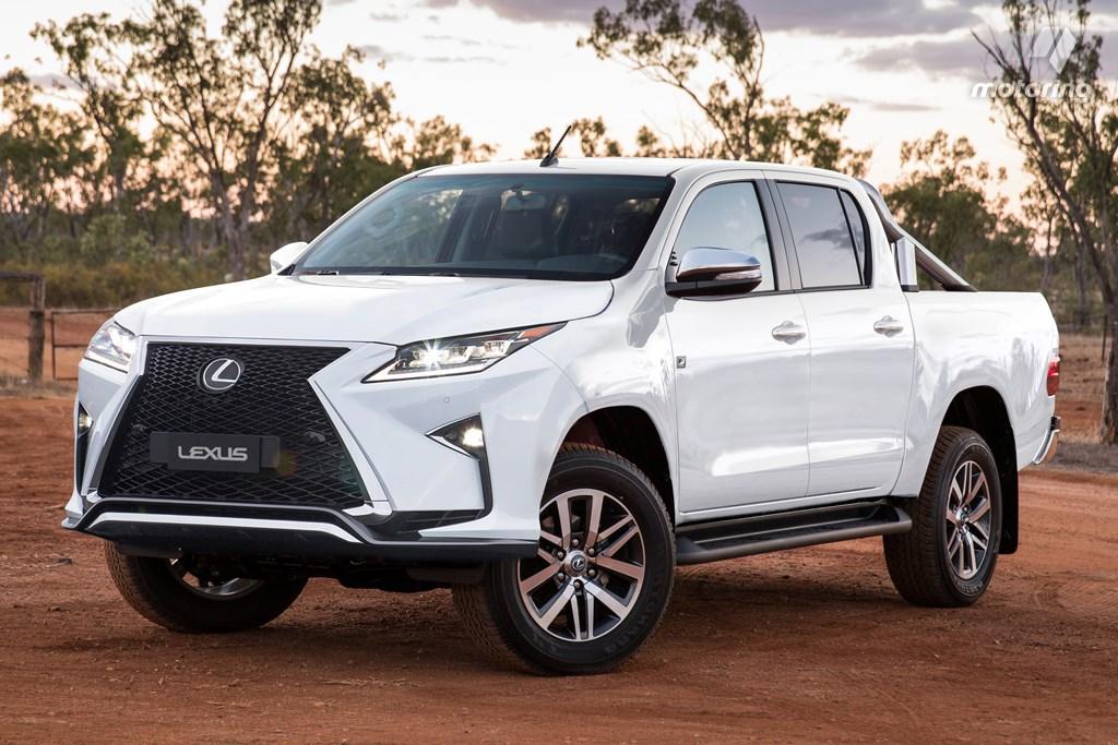 Lexus Pickup - Zdjęcie Monitoring Australia