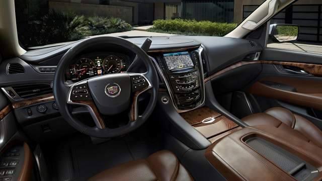Cadillac Escalade EXT 2016 - wnętrze