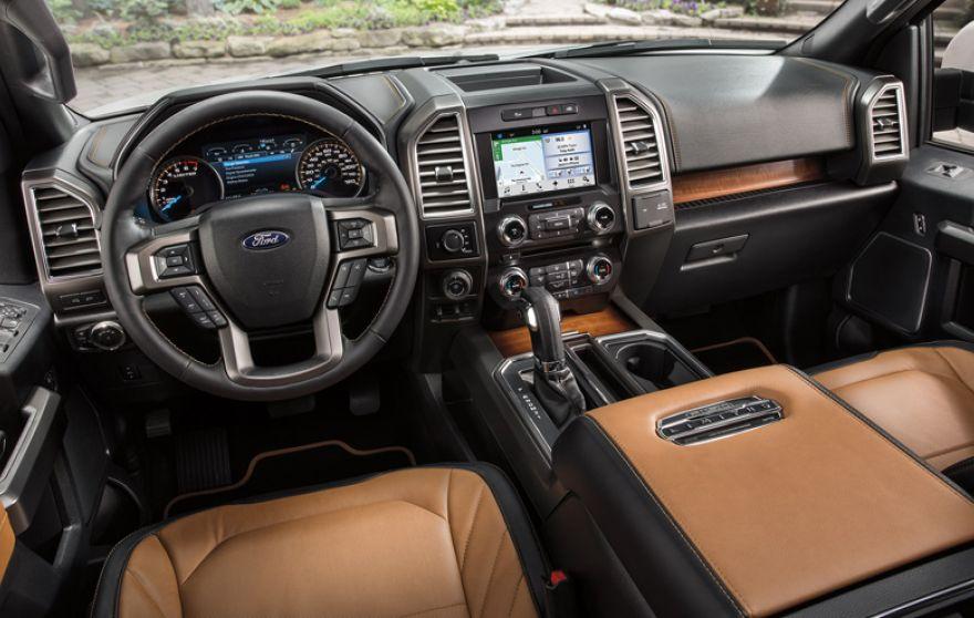 Ford F150 - wnętrze
