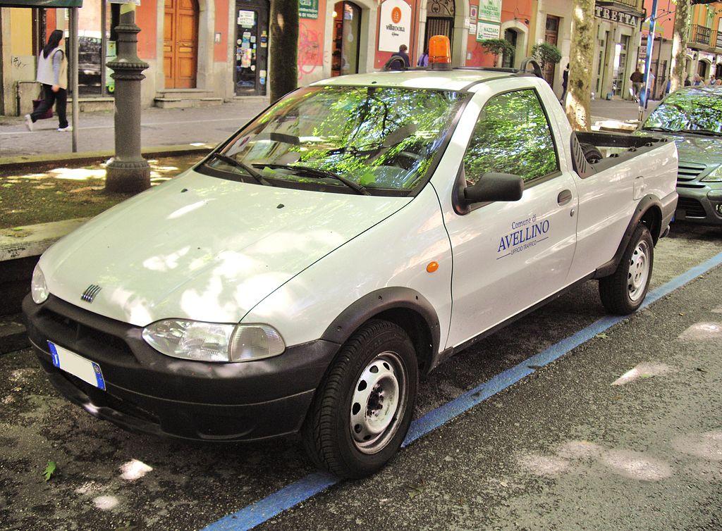 FIAT STRADA pierwszej generacji  Autor: Corvettec6r/Wikipedia Commons