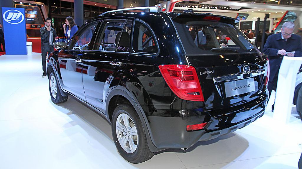 LIFAN X60 materiały producenta