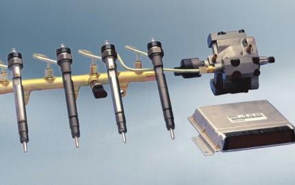 Układ Common Rail firmy Bosch Źródło: in.bosch-automotive.com
