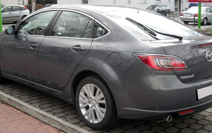 MAZDA 6  By Rudolf Stricker - Own work, Attribution, https://commons.wikimedia.org/w/index.php?curid=5933350