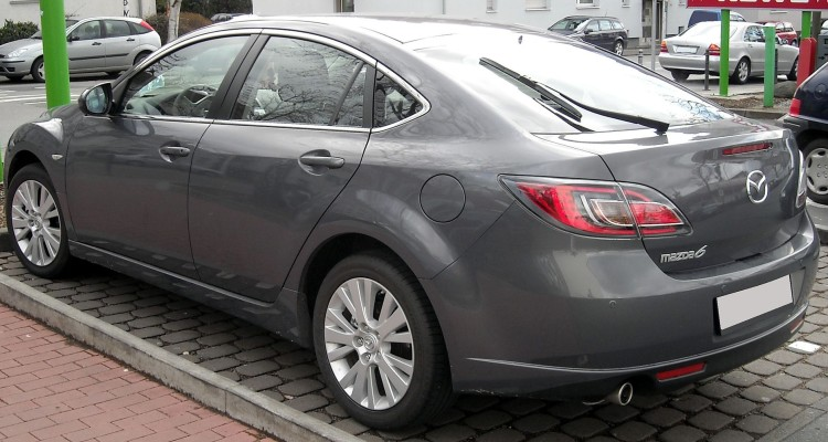 MAZDA 6  By Rudolf Stricker - Own work, Attribution, httpss://commons.wikimedia.org/w/index.php?curid=5933350