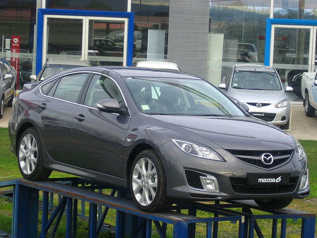 MAZDA 6 II GH By order_242 from Chile - Mazda 6 Sport 2008, CC BY-SA 2.0, httpss://commons.wikimedia.org/w/index.php?curid=34575311