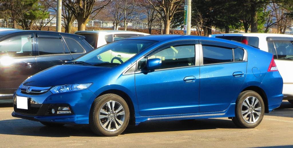 Honda Insight By DY5W-sport - Praca własna, CC BY-SA 4.0, https://commons.wikimedia.org/w/index.php?curid=39483090