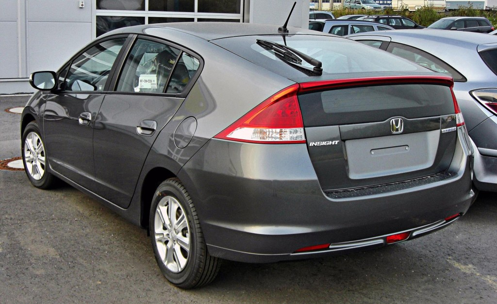 Honda Insight  By S 400 HYBRID - Praca własna (own photo), Attribution, https://commons.wikimedia.org/w/index.php?curid=7520606
