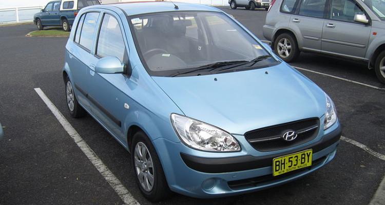 HYUNDAI GETZ Autor: jeremyg3030 (Hyundai Getz) [CC BY 2.0 (https://creativecommons.org/licenses/by/2.0)], Wikimedia Commons