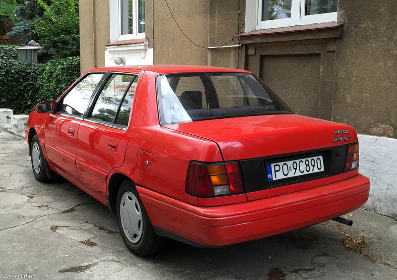 Hyundai Pony - Tym modelem Koreańczycy zadebiutowali na polskim rynku  Photo credit: peterolthof via Foter.com / CC BY-ND