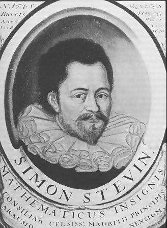 Simon Stevin By nieznany - Digitool Leiden University Library, http://socrates.leidenuniv.nl, Domena publiczna, https://commons.wikimedia.org/w/index.php?curid=72690