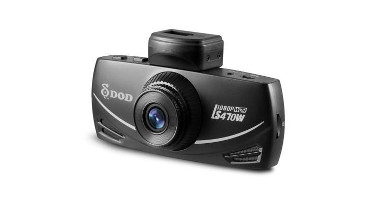 Wideorejestrator DOD LS470W - materiały prasowe