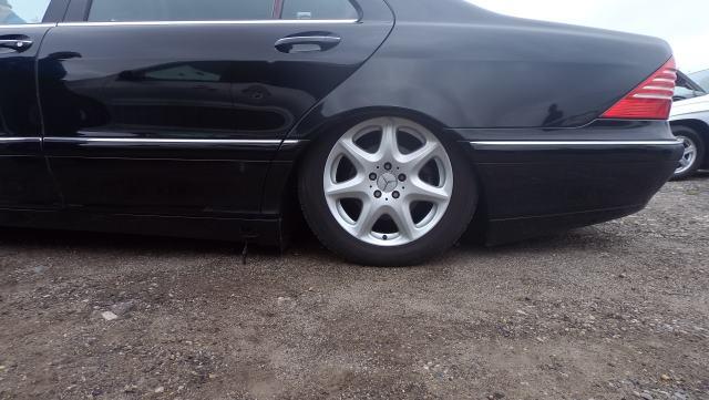 Przykładowa awaria zawieszenia pneumatycznego w Mercedesie  Źródło MB MEDIC