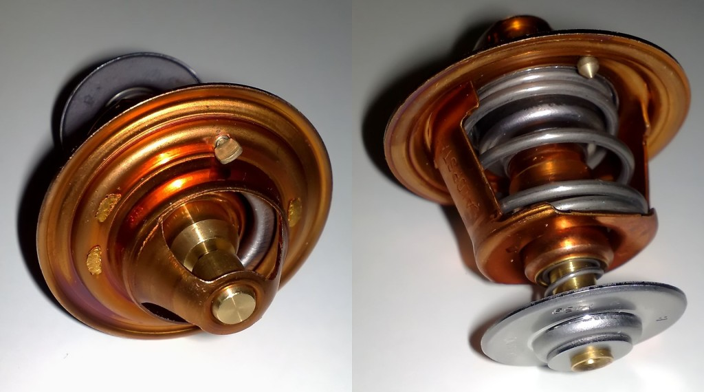 Hoikka1 - Own work 88°C (361°K, 190°F) Thermostat, that fits in Toyota A, E, S and C engines.