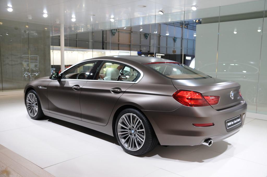 BMW 6 Gran Coupe I Motorewia.pl I Żródło: By Norbert Aepli, Switzerland (User:Noebu) - Praca własna, CC BY 3.0, https://commons.wikimedia.org/w/index.php?curid=18632058