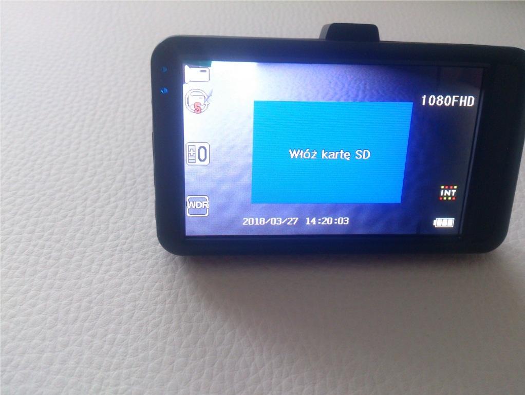 Kamera samochodowa CGM CA-D3A I Motorewia.pl I Zdjęcie własne