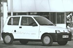 Elektryczny Fiat Cinquecento – Fiat Cinquecento Elettra – źródło – materiały prasowe FIAT