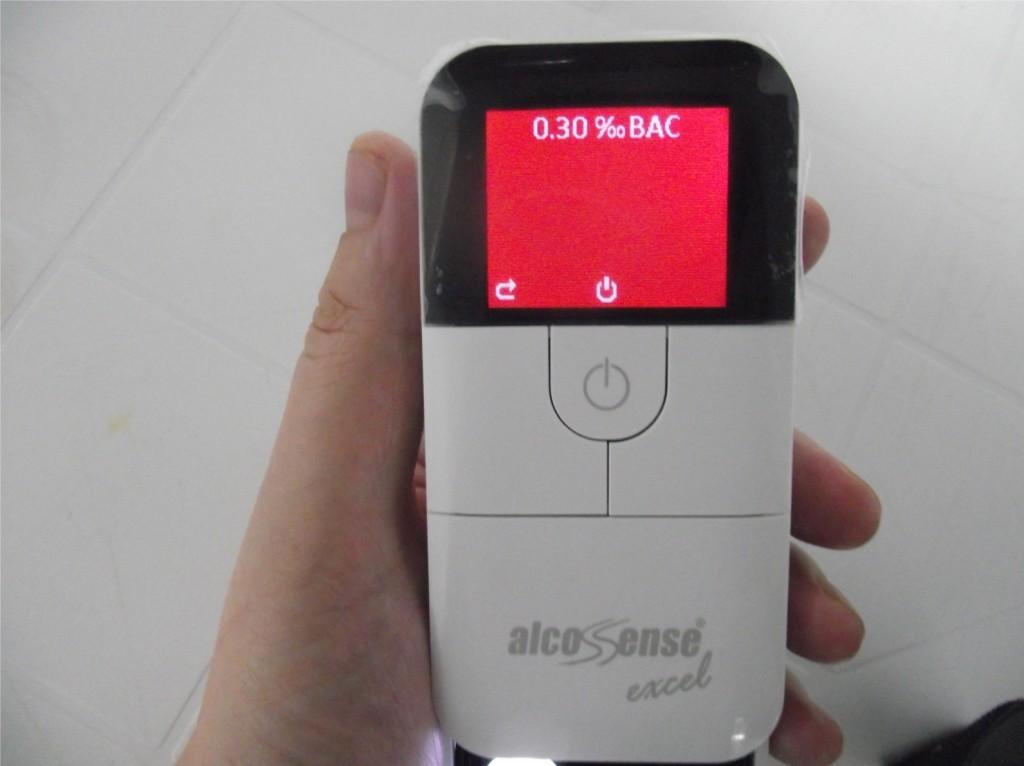alkomat cyfrowy Alcosense Excel - www.motorewia.pl Zdjęcia własne