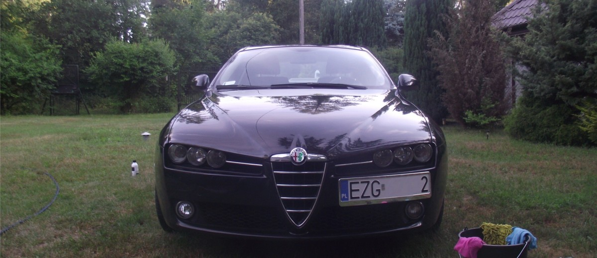 Alfa Romeo 159 - detailing z SunnyCar Detailing Autor Michał Lisiak/Motorewia.pl