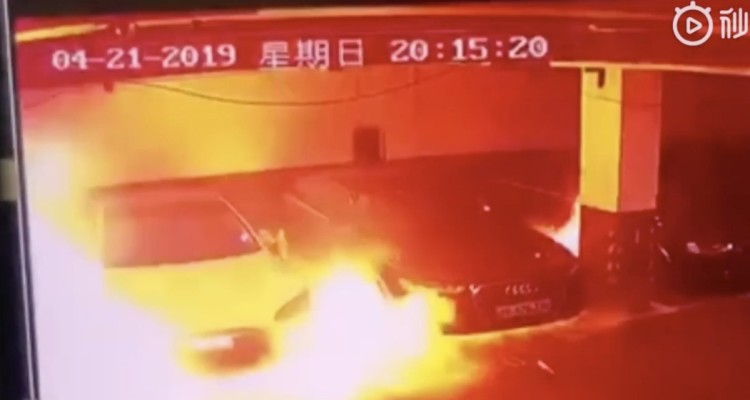 Tesla explode