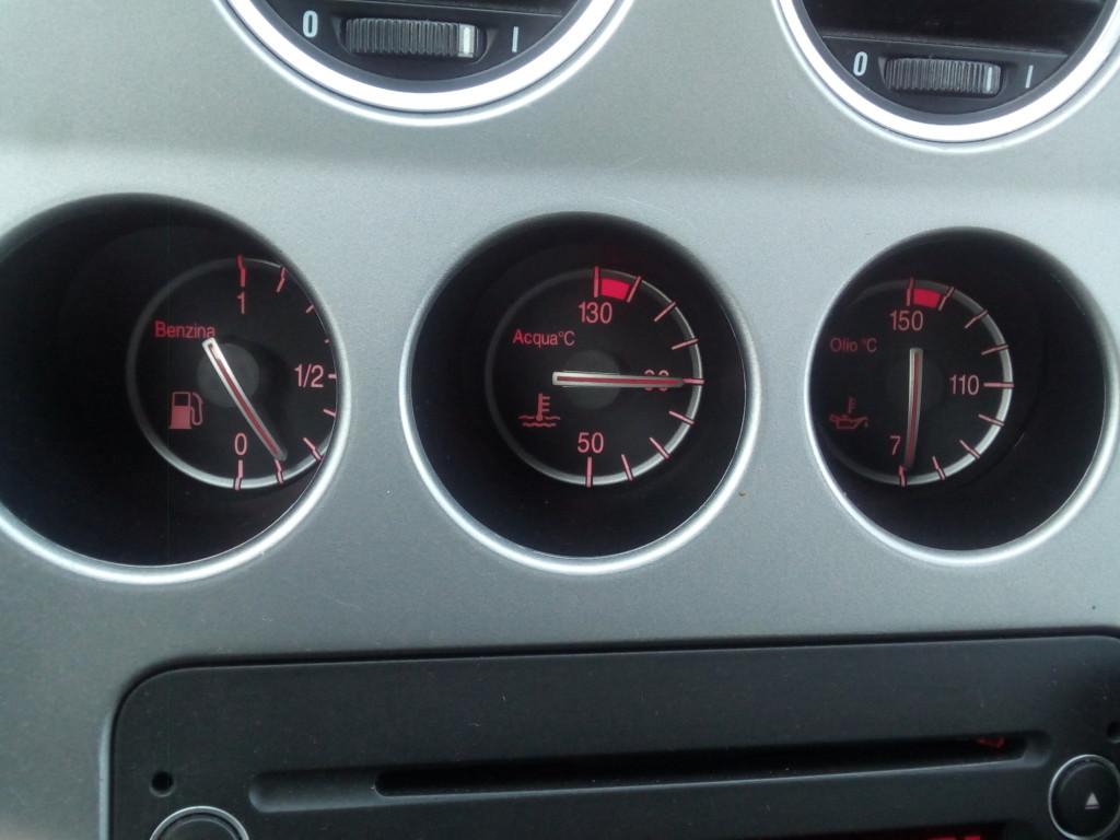 Temperatura oleju silnikowego, temperatura płynu chłodniczego www.motorewia.pl Michał Lisiak