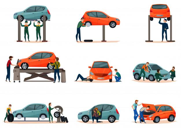 """Przegląd samochodu - wszystkie informacje https://www.motorewia.pl Źródło zdjęcia"""" Freepik.com"""
