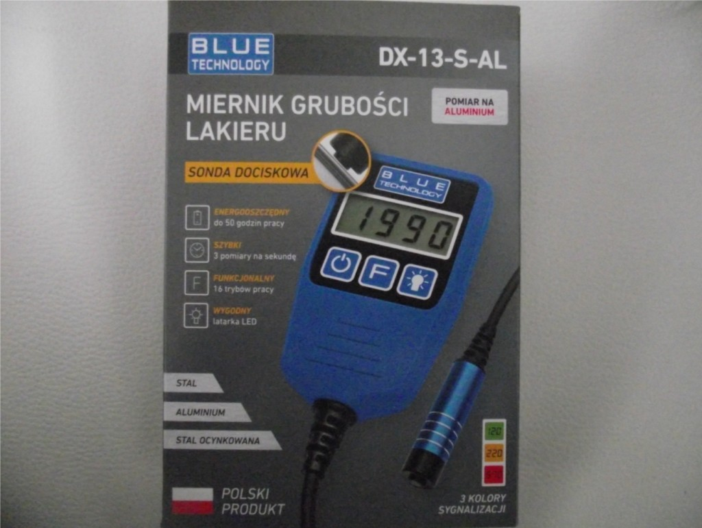Miernik grubości lakieru Blue Technology