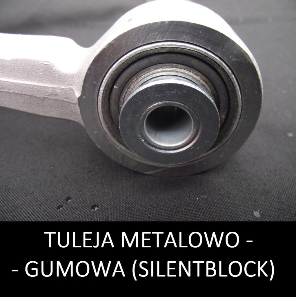 tuleja metalowo gumowa - silentblock wahacz zawieszenia, awarie wahaczy https://www.motorewia.pl Michał Lisiak