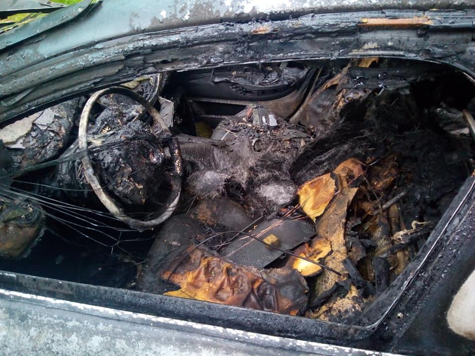 Pożar samochodu https://www.motorewia.pl Michał Lisiak